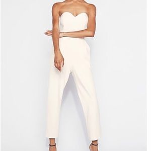 NWT EXPRESS White Jumpsuit 🤍